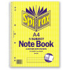SPIRAX 596 5 SUBJECT NOTEBOOK 5 Subject A4 250Pg SB WHITE PAGES EA