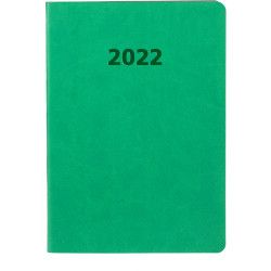 Collins Edge Mira Diary A5 Week To View Green